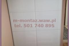 szafa IKEA PAX 150x236x60 drzwi SEKKEN