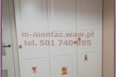 szafa IKEA PAX 150x236x60 drzwi TYSSEDAL